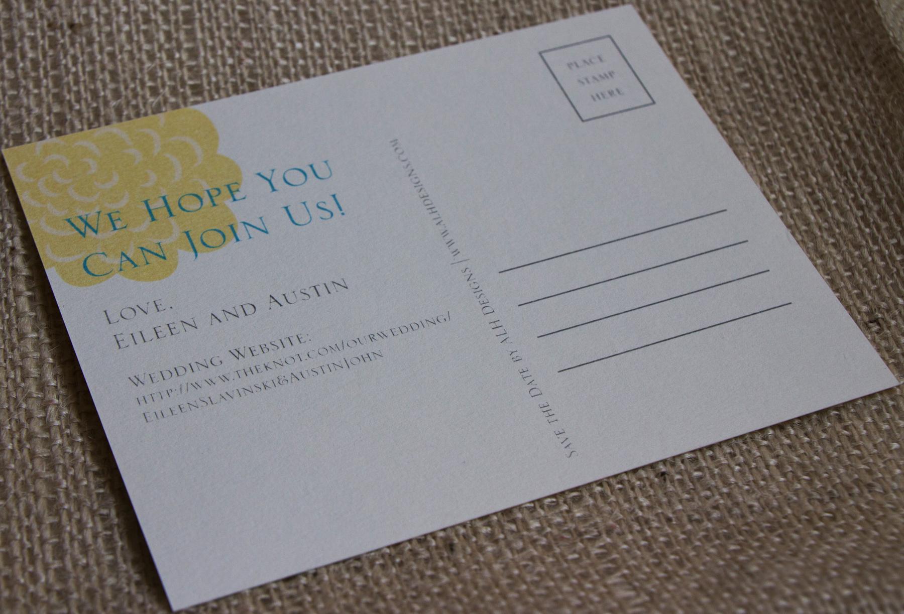 Dating postcard backs
