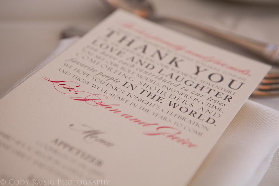 Philadelphia Custom Stationery Designer | Thank Yous
