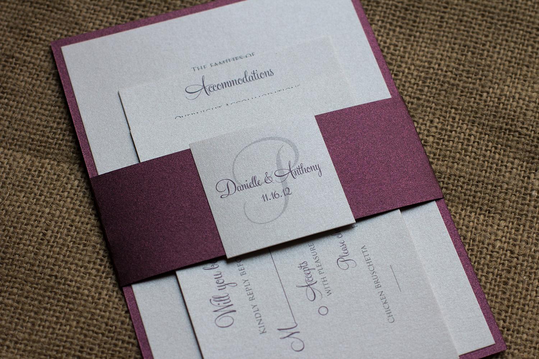 danielle tonys wedding invitation suite burgundy wedding invitations elegant sangria purple burgundy wedding invitation