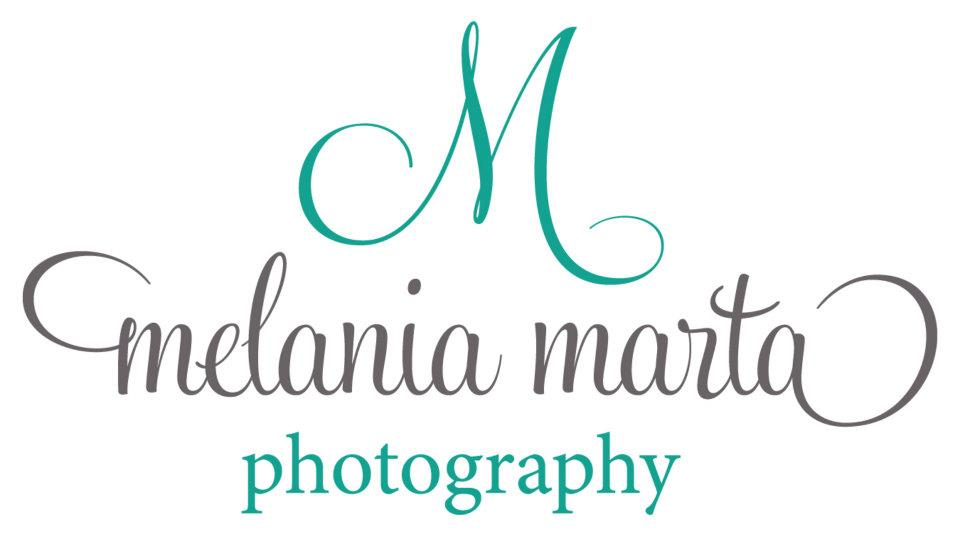 melania marta photography, logo, photographer logo, wedding photographer