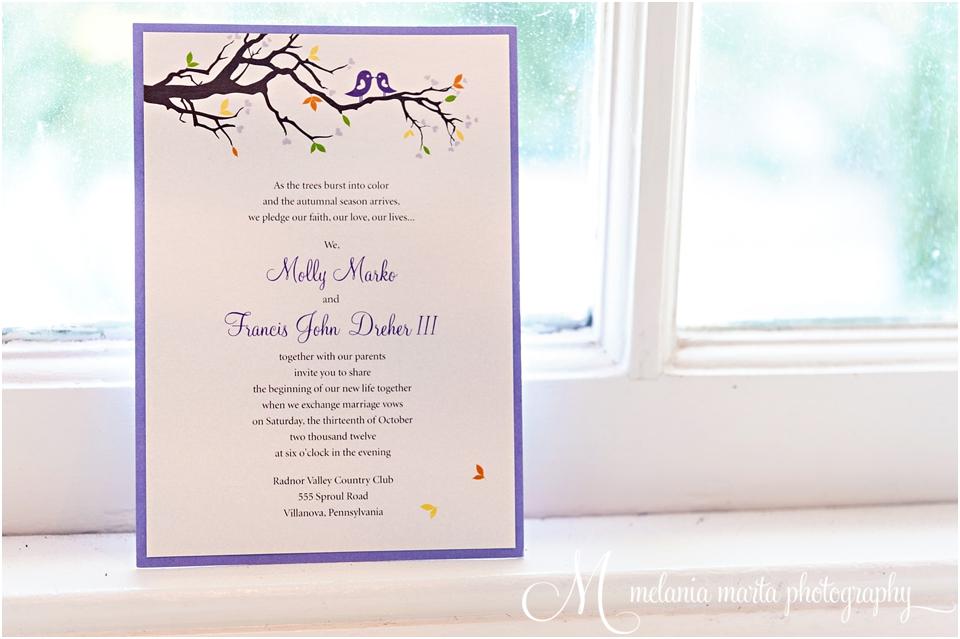 Wine Themed Wedding October Purple Love Birds Cork Favors