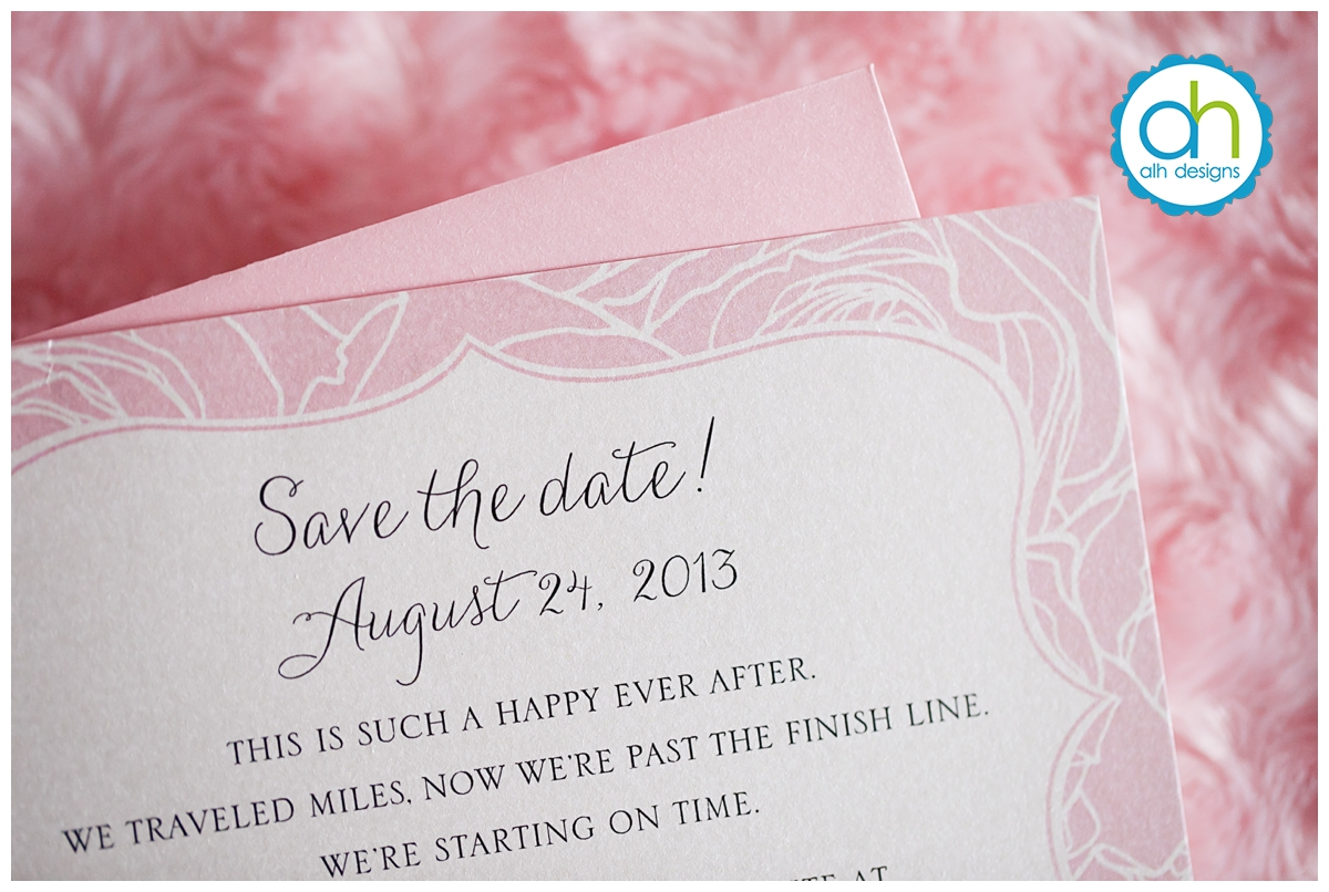 Save the Date, Philadelphia, ALH Designs