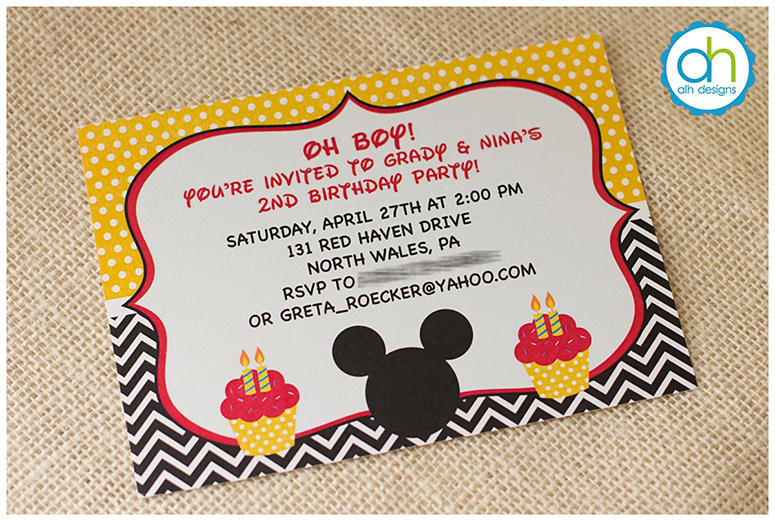 Philadelphia Custom Invitations