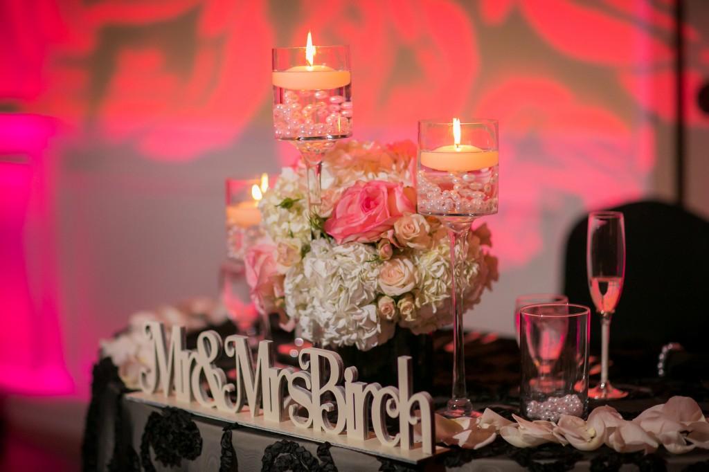 Philadelphia Custom Wedding Stationery | Sweetheart Table Sign