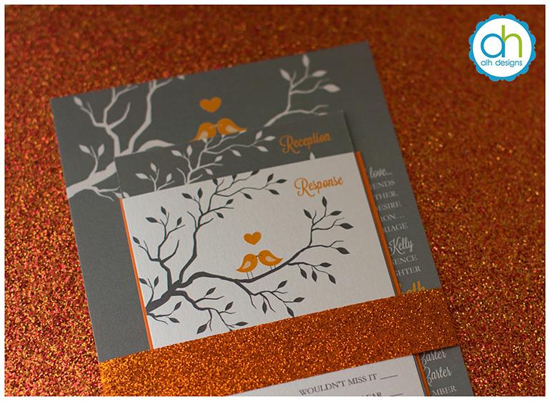april lynn designs, Wedding invitations