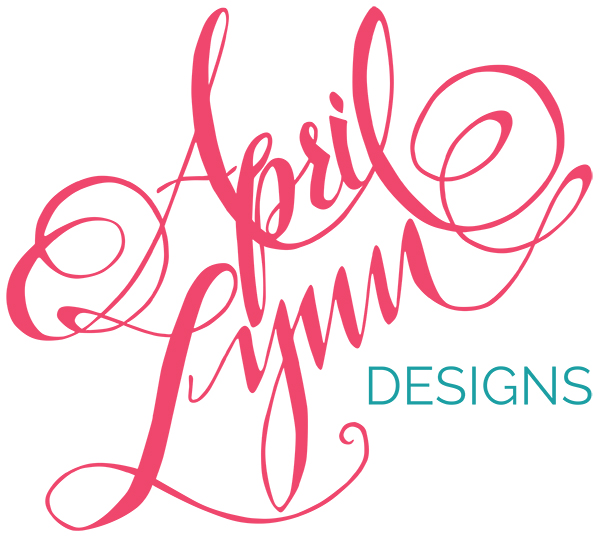 New Logo For Philadelphia Custom Stationery Designer April Lynn Designs