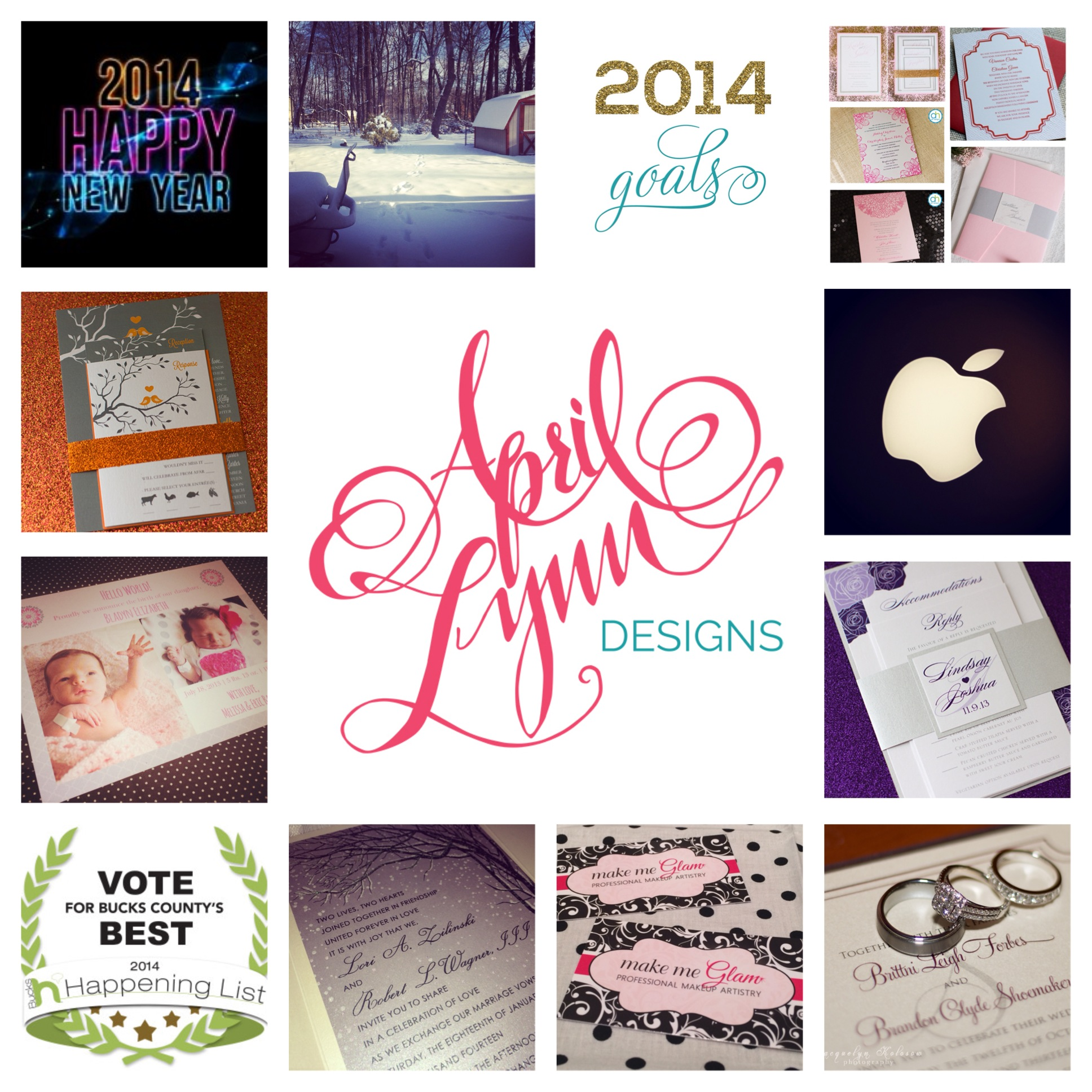 Instamonth, January, april lynn designs