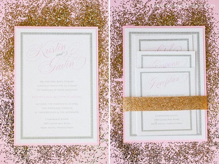 Philadelphia Custom Wedding Invitations | Althea + Saleem's Wedding Invitation
