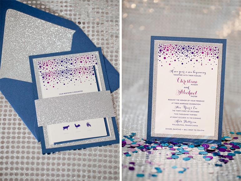 Philadelphia Custom Wedding Invitations