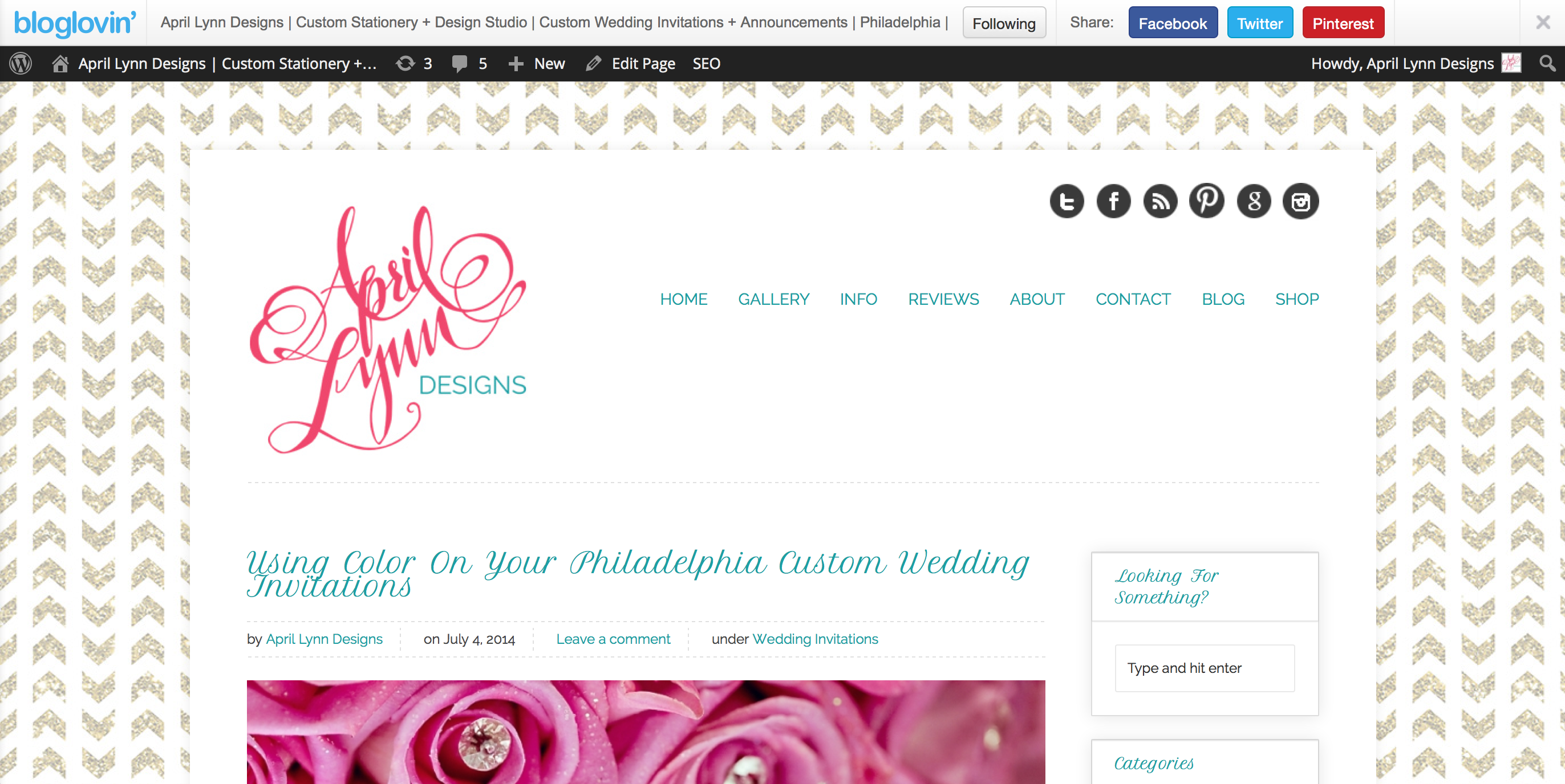 April Lynn Designs' Wedding Blog On Bloglovin'