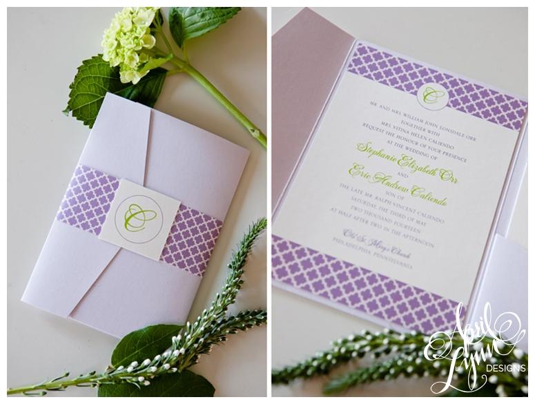 Custom Wedding Invitations Philadelphia