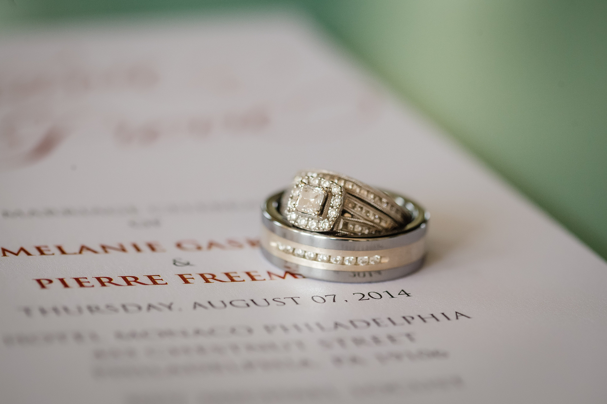 Philadelphia Custom Wedding Stationery | Wish Upon A Wedding Rings