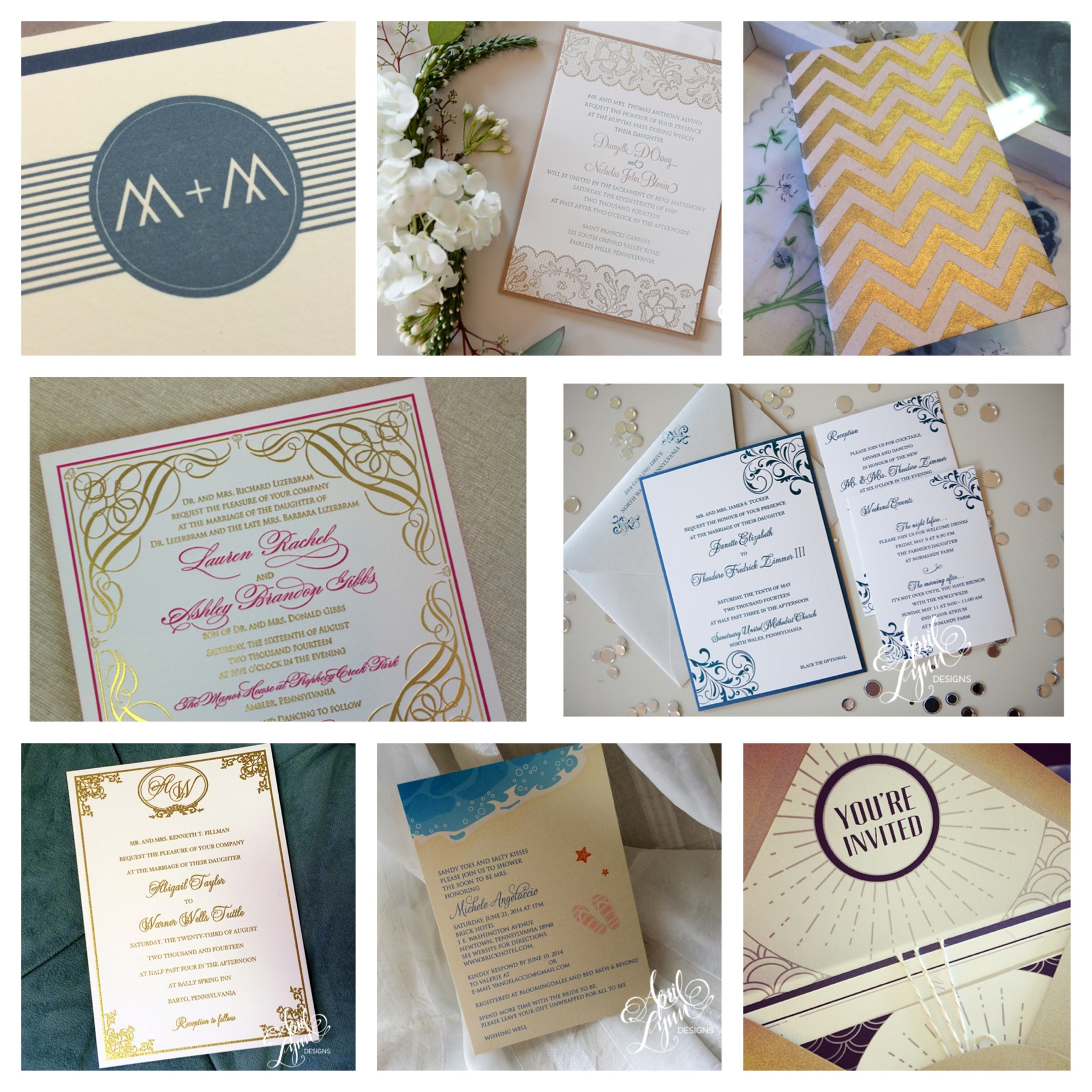 Philadelphia Custom Stationary Designer | InstaMonth August