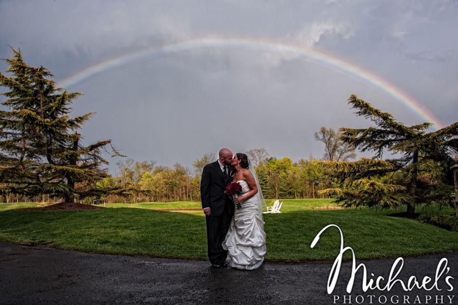 Philadelphia Custom Wedding Stationery | Talamore Country Club Couple's Portrait