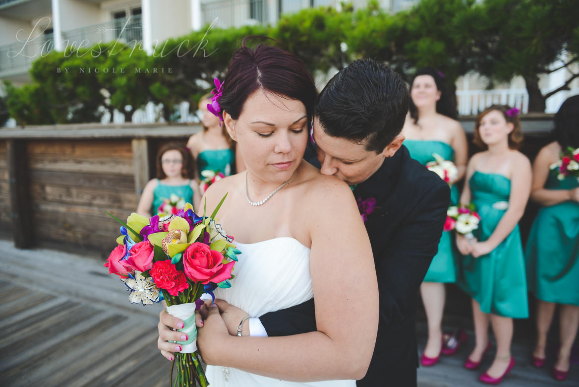 Lovestruck by Nicole Marie Rehoboth Beach Couple's Portrait