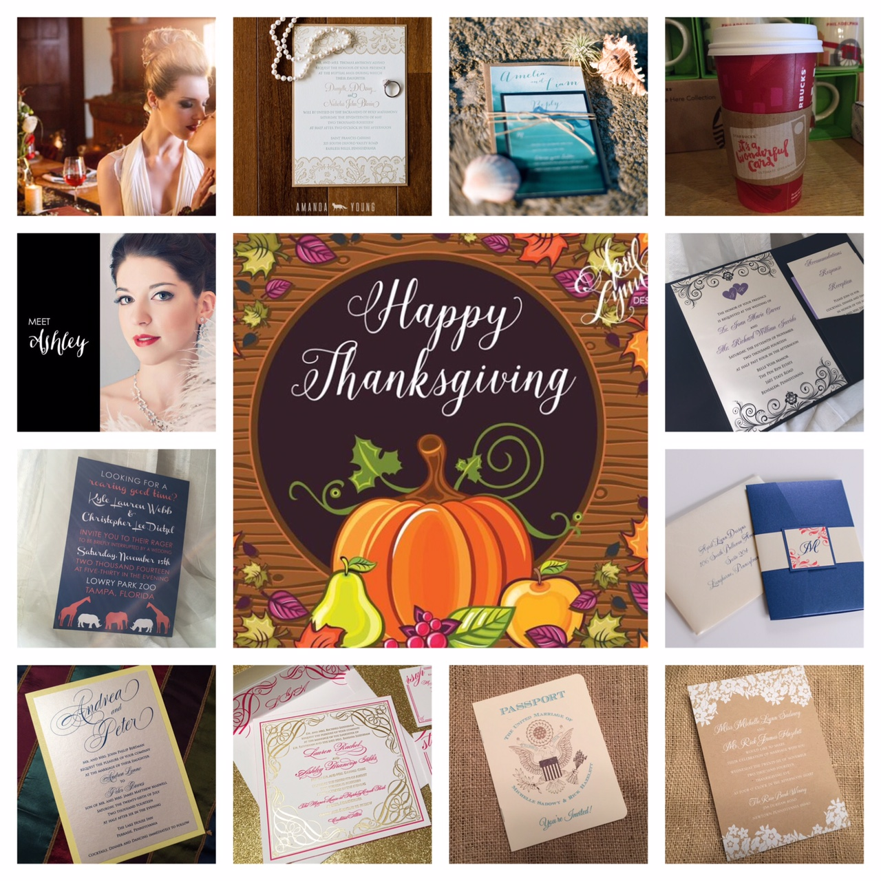 Philadelphia Wedding Stationery Designer | April Lynn Designs Instamonth November