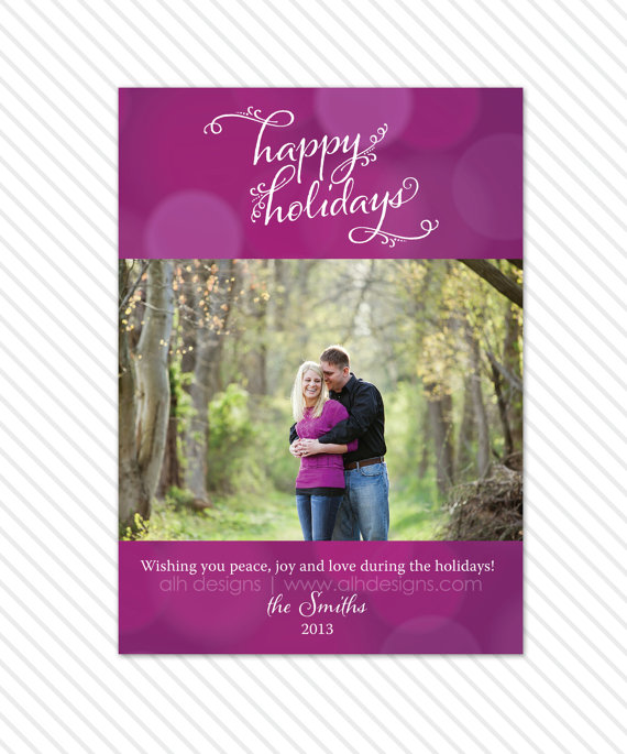 Etsy Christmas Cards, Etsy Holiday Cards by April Lynn Designs