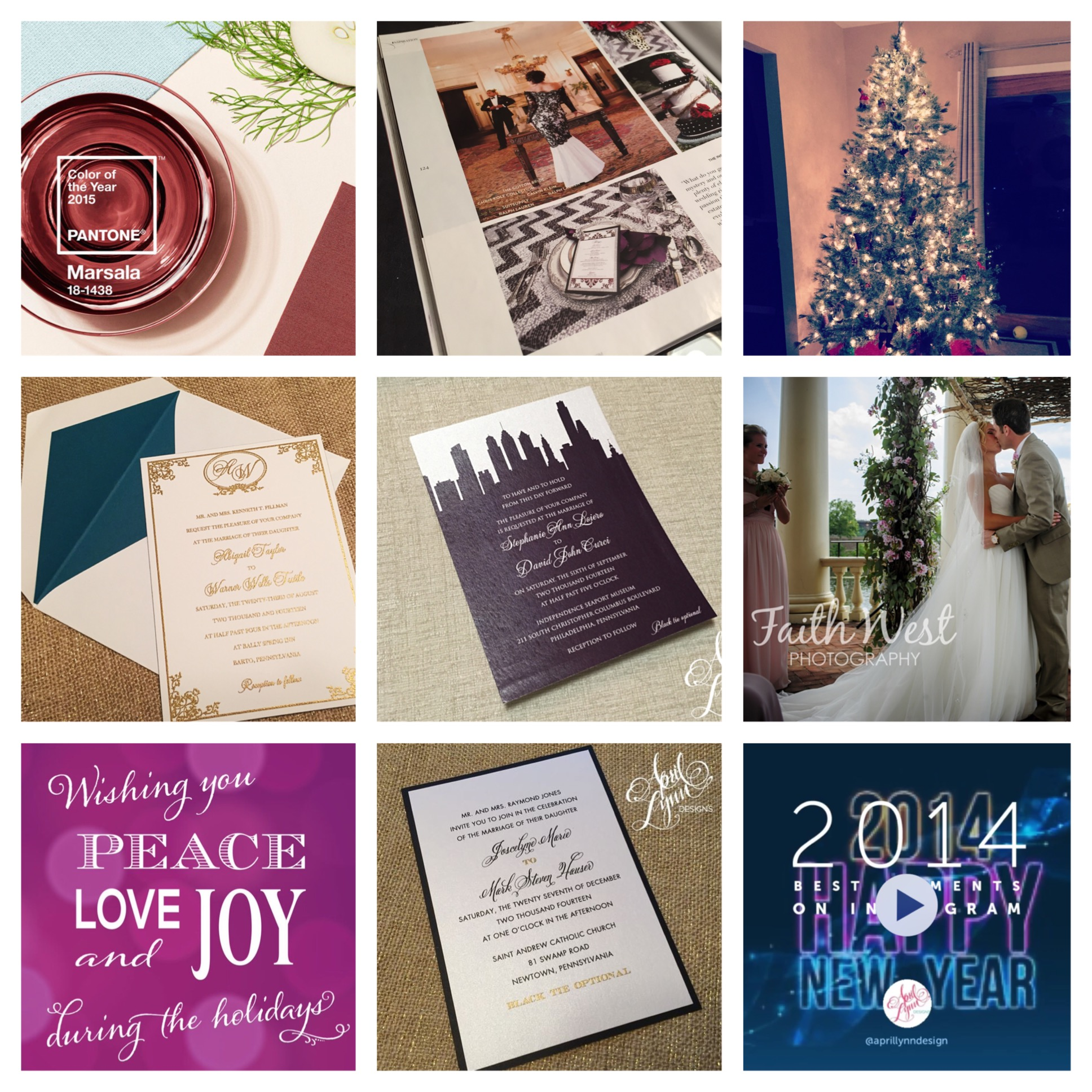 Philadelphia Stationery Designer | InstaMonth December