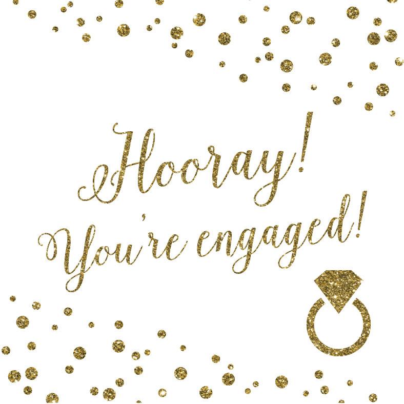 Hooray You Re Engaged April Lynn Designs Luxury