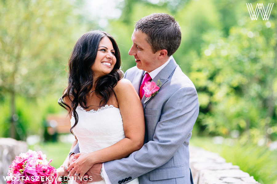 Manor House at Prophecy Creek Wedding | Couple's Portrait
