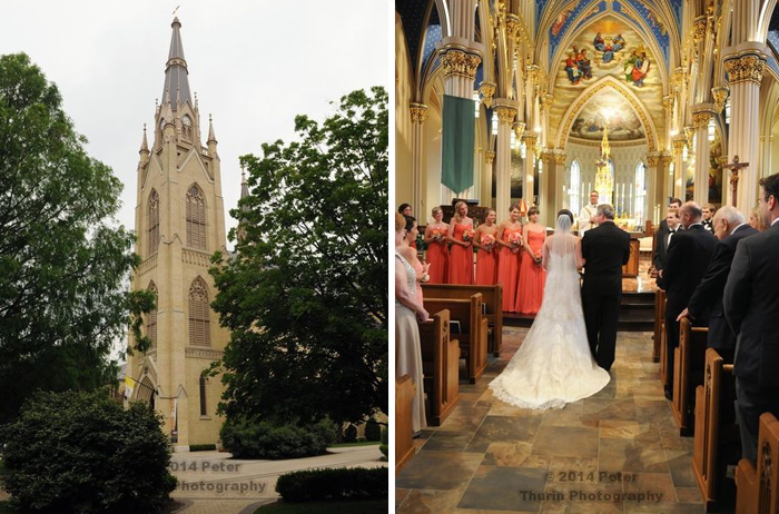 Notre Dame Wedding | Basilica of the Sacred Heart Ceremony