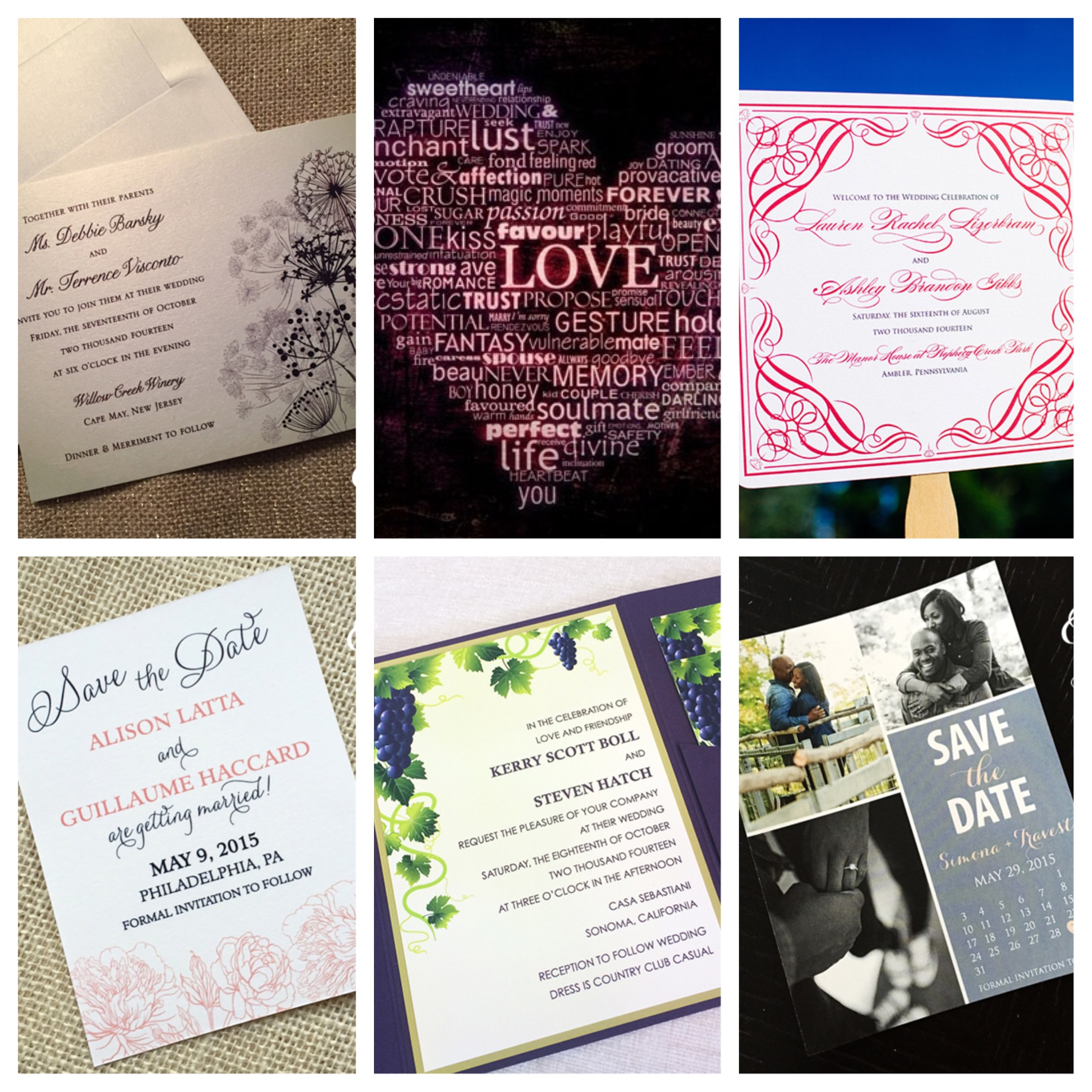 Philadelphia Wedding Stationery | InstaMonth February