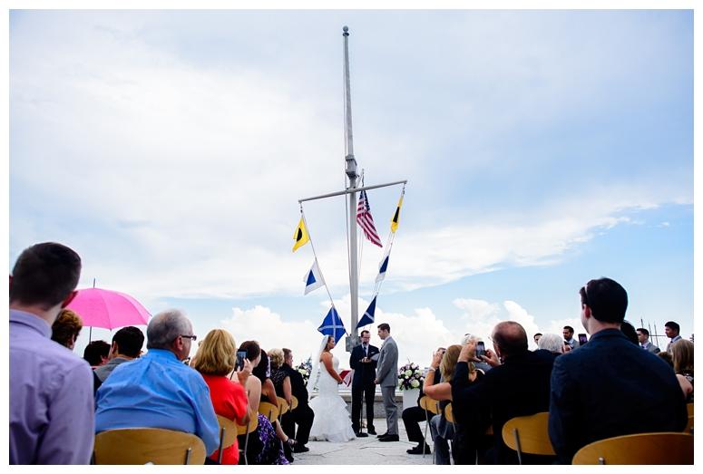 Philadelphia Seaport Museum Wedding Ceremony