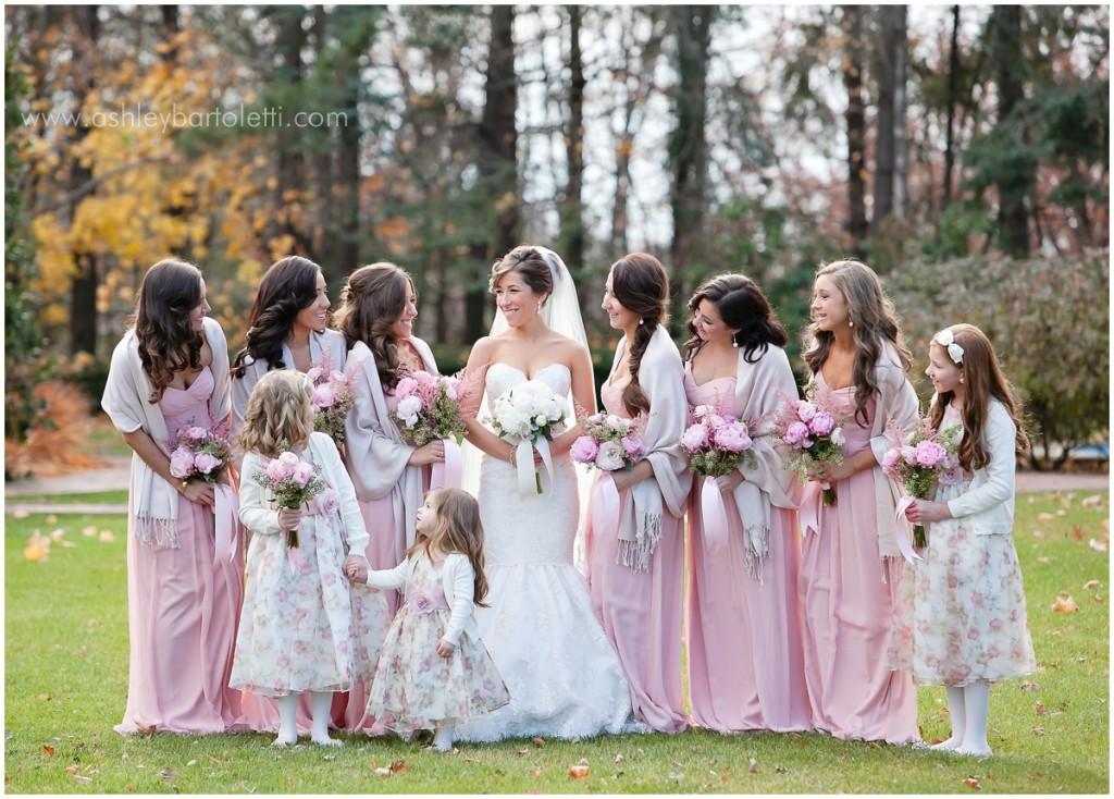 Ashley Bartoletti Photography Bridal Party