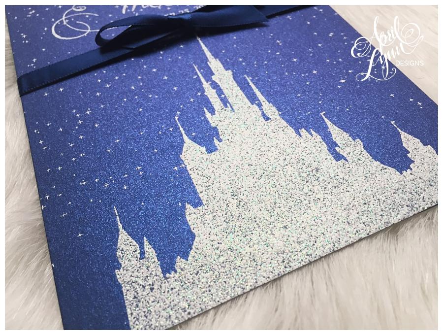 ... Disney Themed Wedding Invitation By April Lynn Designs ...