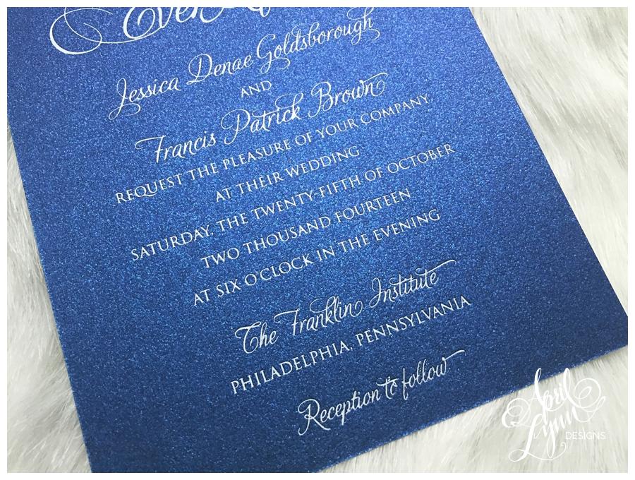 Wedding Invitations Disney: Jessica + Francis' Wedding Invitation Suite