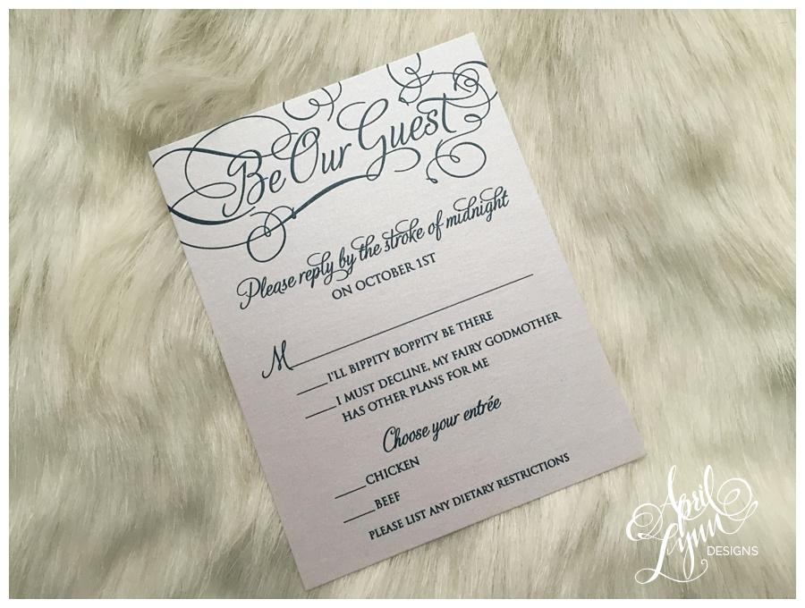 Jessica + Francis\' Wedding Invitation Suite | April Lynn Designs ...