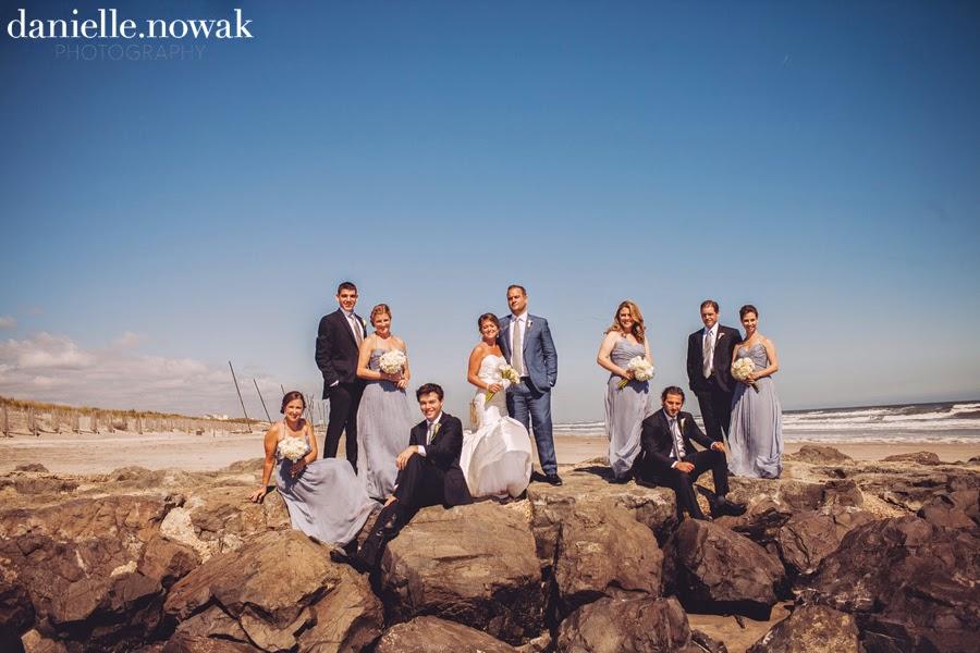 Rustic Beach Wedding Wedding Party Portraits