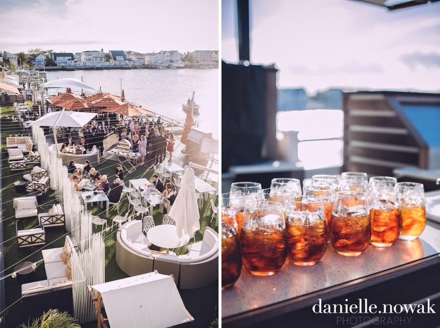 Rustic Beach Wedding Reception