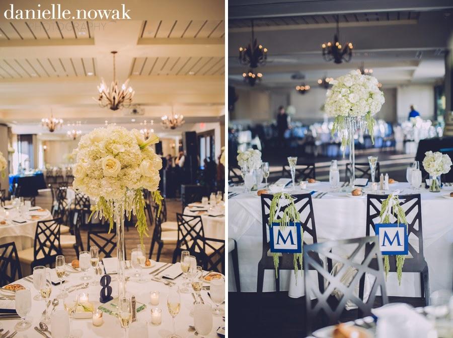 Rustic Beach Wedding Reception Table Settings