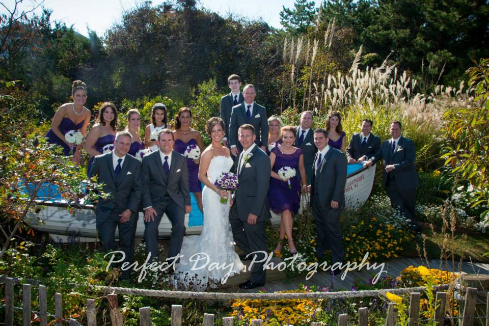 Rustic Willow Creek Winery Wedding Bridal Party Portrait
