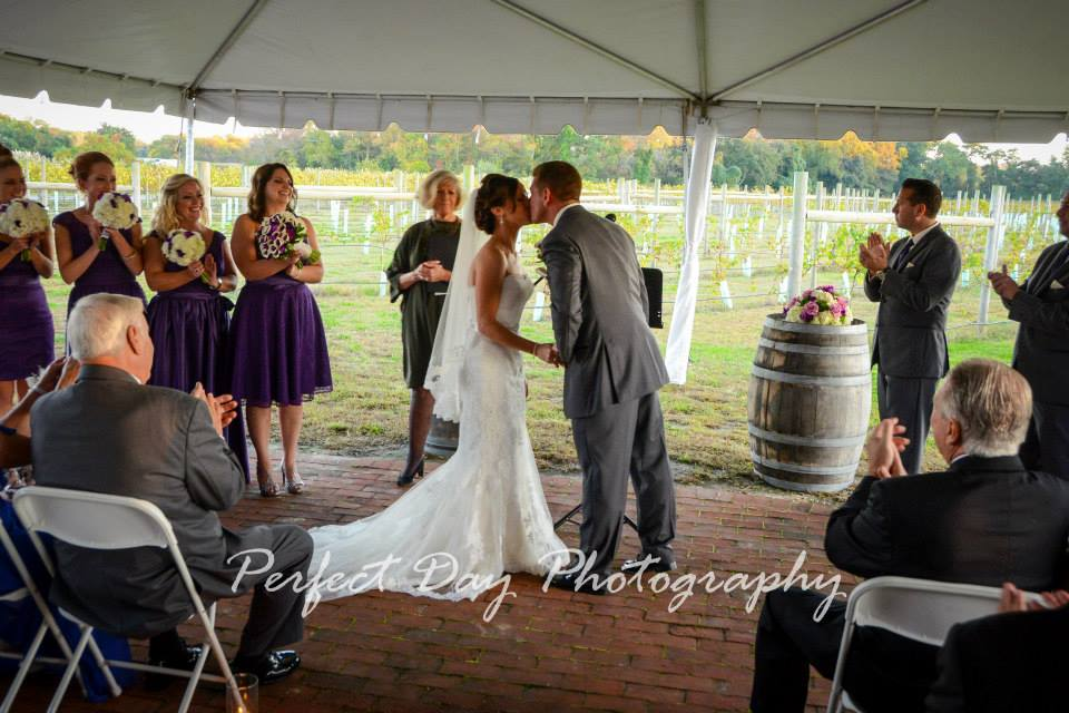 Rustic Winery Wedding Reception