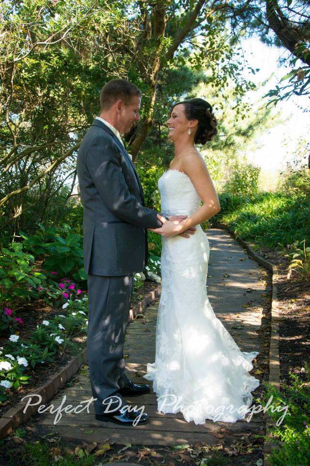 Rustic Winery Wedding First Look