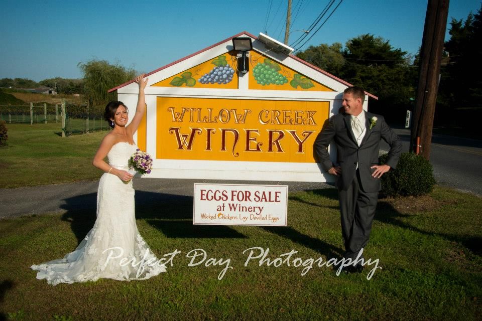Willow Creek Winery Wedding