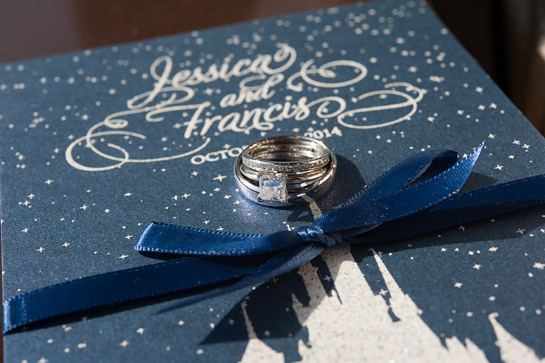 Real Wedding: Jessica + Francis | April Lynn Designs | Custom ...