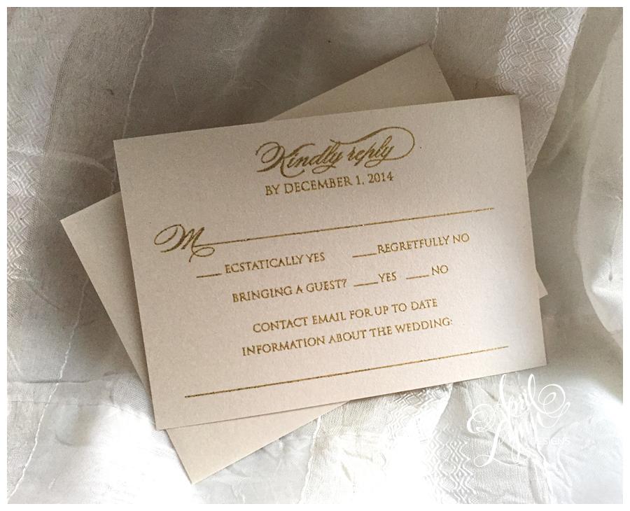 ... Thermography Wedding Invitation ·  ShawnRene_Ennio_Wedding_Invitation_Gold_Glitter_Thermography_Marco_Island_Florida2 2