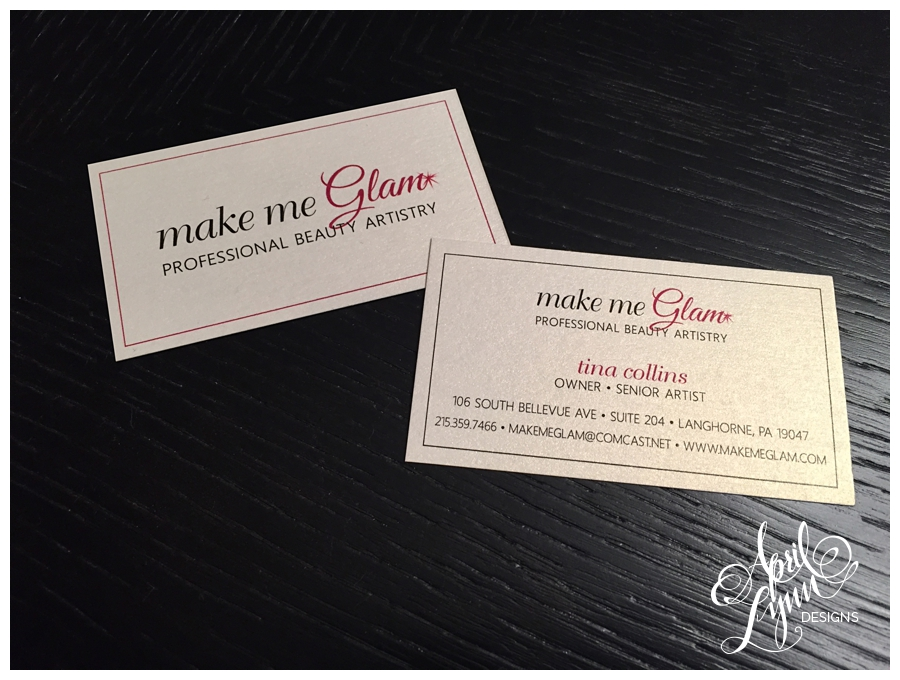 Custom Business Cards by April Lynn Designs