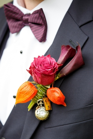 Alice in Wonderland Styled Shoot Boutonniere