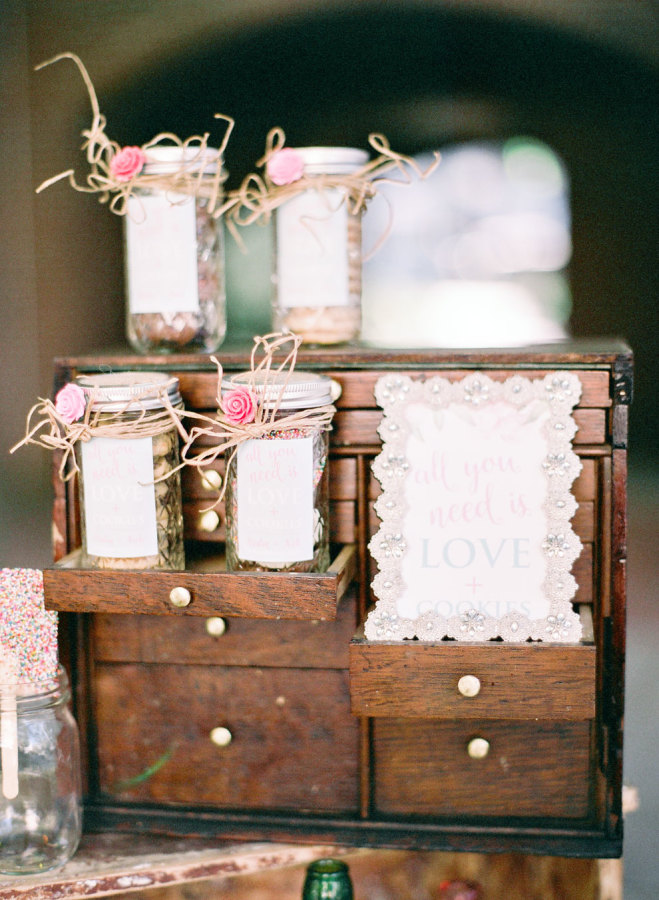 Pink + Blue Shabby Chic Cocktail Signs by April Lynn Designs