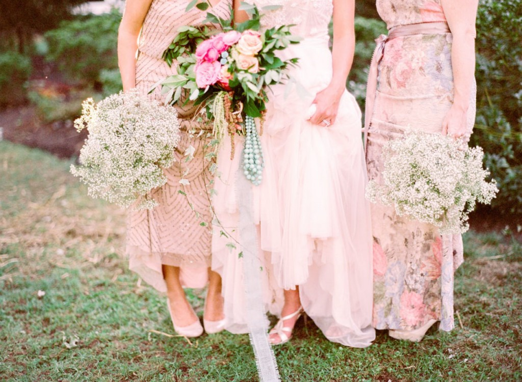 Shabby Chic Styled Shoot Bouquets by Kristin Rockhill