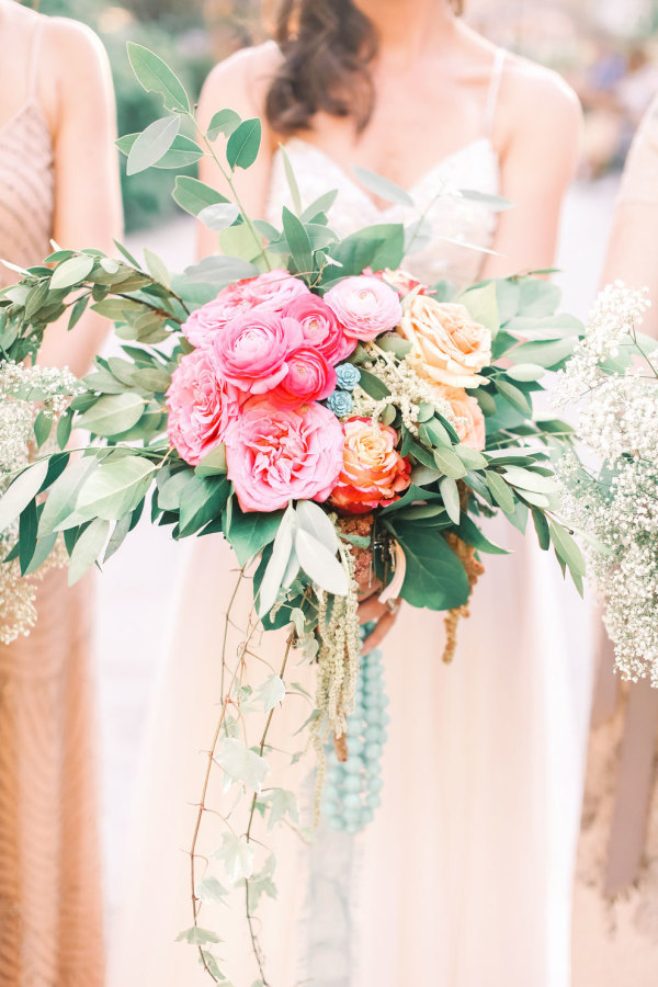 Shabby Chic Styled Shoot Bridal Bouquet by Kristin Rockhill