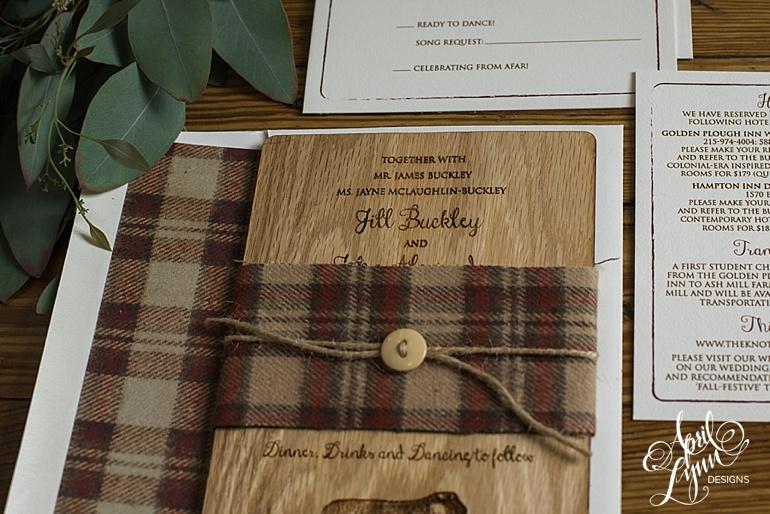 April_Lynn_Designs_Jill_John_Ash_Mill_Farm_New_Hope_Rustic_Farm_Wood_Wedding_Invitation2