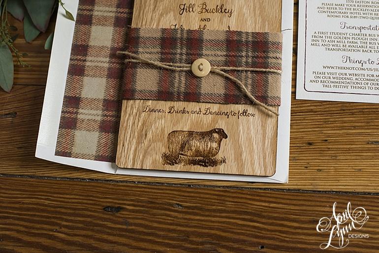April_Lynn_Designs_Jill_John_Ash_Mill_Farm_New_Hope_Rustic_Farm_Wood_Wedding_Invitation3