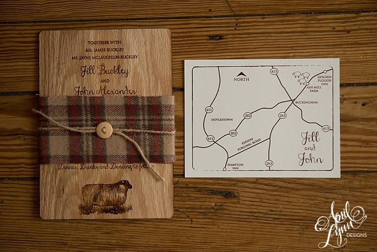 ...  April_Lynn_Designs_Jill_John_Ash_Mill_Farm_New_Hope_Rustic_Farm_Wood_Wedding_Invitation4  ...