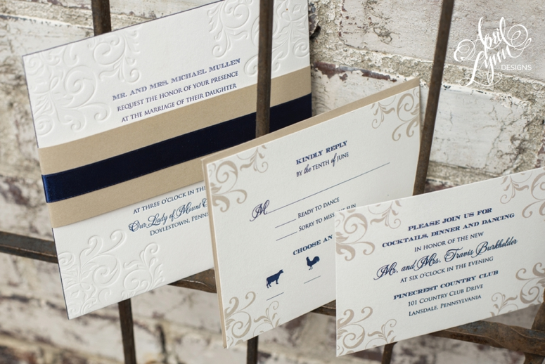 Sarah_Travis_Letterpress_Wedding_Invitation_PineCrest_Country_Club_Lansdale_Pennsylvania1