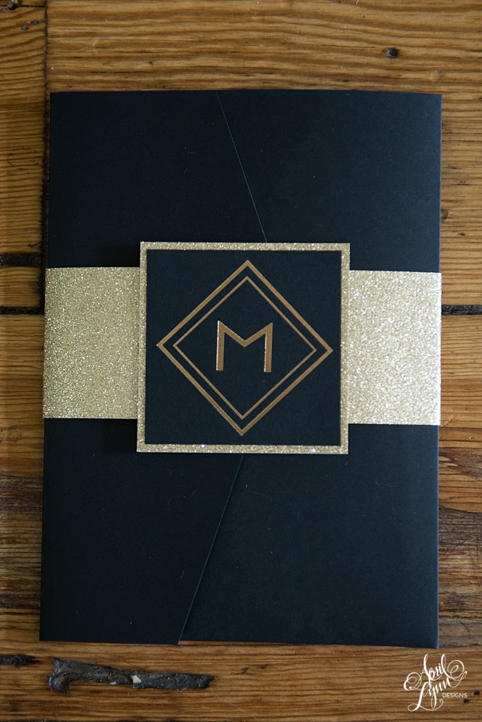 April_Lynn_Designs_Amanda_James_Ballroom_at_the_Ben_Philadelphia_Gold_Foil_Art_Deco_Gatsby_Wedding_Invitation1
